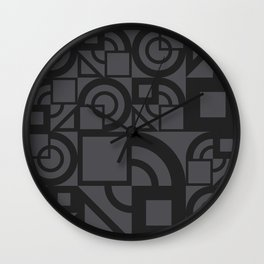 Bauhaus 39 Petrol Grey ed. Wall Clock