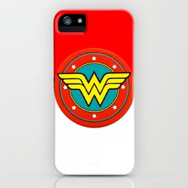 wonder of women iPhone Case
