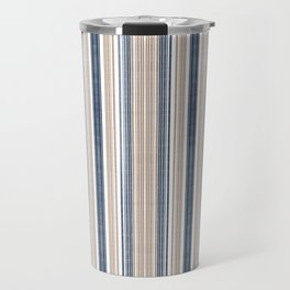 Nautical stripe Travel Mug