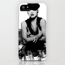 Madonna - Justify My Smoking' Love iPhone Case