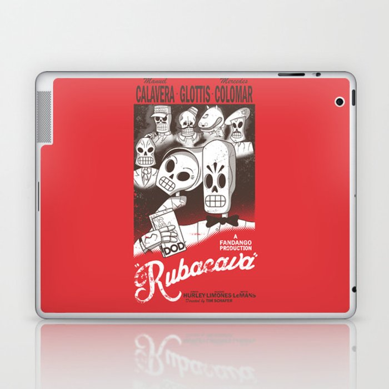 Rubacava Laptop & iPad Skin