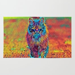 AnimalColor_Cat_ 002_by_JAMColors Rug
