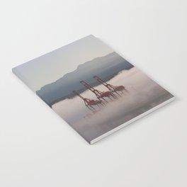 Burrard Inlet Fog Notebook