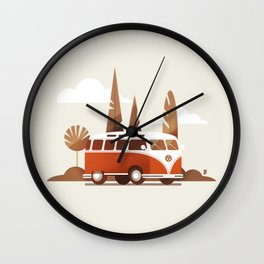 Van Wall Clock
