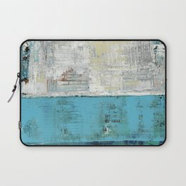 Fairbanks Abstract Light Blue White Laptop Sleeve