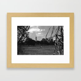 Manhattan: One World Trade Center Framed Art Print