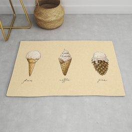 Ice Cream Cones Rug