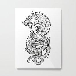 Fenrir Metal Print