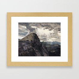 Lembert Dome, Yosemite Framed Art Print