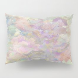 Sweet Spring Pastel Floral Abstract Pillow Sham