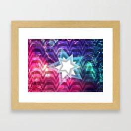 Energy Star Framed Art Print