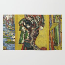 Courtesan (after Eisen) - Van Gogh Rug