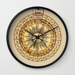 Celestial Chart 1522 Wall Clock