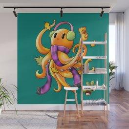 Autumn Octopus Wall Mural