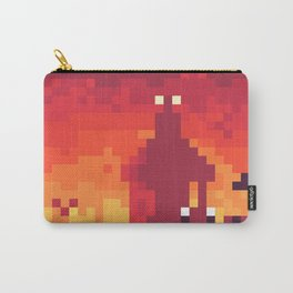 Pixel Town at Sundown Carry-All Pouch