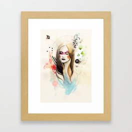 Somthing About You Framed Art Print