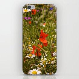 English Meadow Flowers iPhone Skin