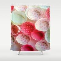 baking Shower Curtains featuring weekend baking by Asano Kitamura