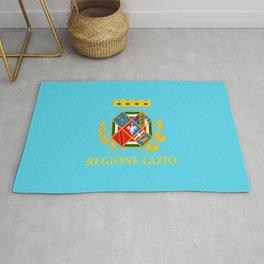flag of latium or Lazio Rug
