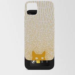 Cat Landscape 96: Good Meowning iPhone Card Case
