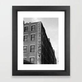 Rubber Company Framed Art Print