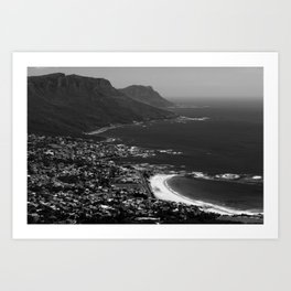 Camps Bay Cape Town Art Print