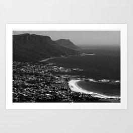 Camps Bay Cape Town Art Print