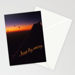 Just Fly Away Stationery Cards