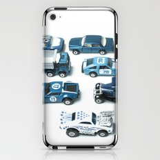 Its A Parking Lot Out There... Blue iPhone & iPod Skin