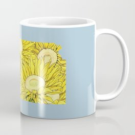 Kansas in Flowers Coffee Mug