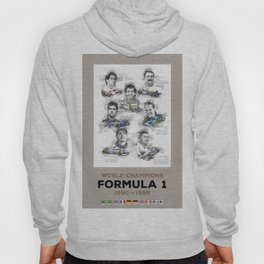 Formula 1 World-Champion from 1990 to 1999 Hoody