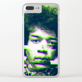 Hendrix Clear iPhone Case