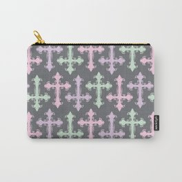 Pastel Goth | Grey Carry-All Pouch