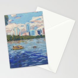 Lady Bird Lake Stationery Cards