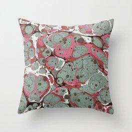 Nitrogen Pink Throw Pillow