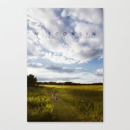 Wisconsin: We don't just have beer. Canvas Print
