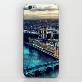 London watercolor iPhone Skin