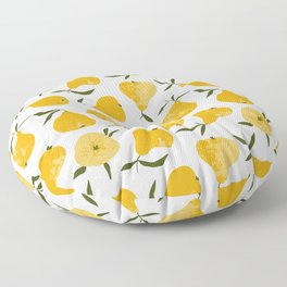 Yellow pear Floor Pillow
