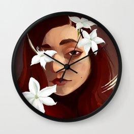 Yasmine Heart Wall Clock