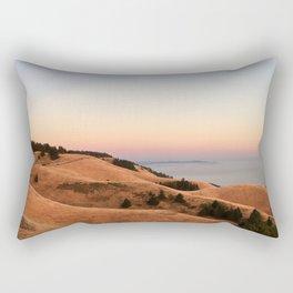 Untitled Sunset #1 Rectangular Pillow