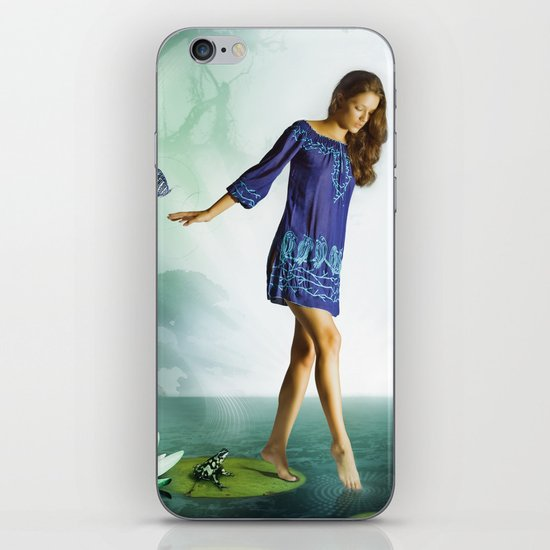 The Lili & The Frog iPhone Skin