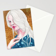 Magnolia, watercolor Stationery Cards