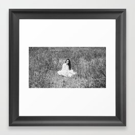 Who cares the most Framed Art Print