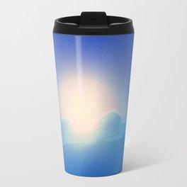 Ice Cold Blue Travel Mug