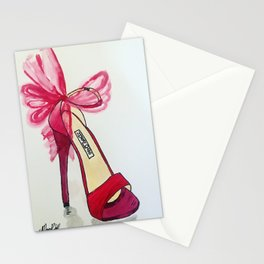Designer Shoe Confidence Stationery Cards