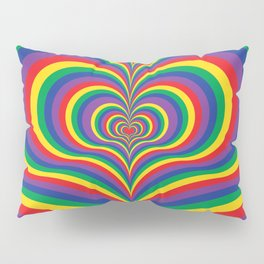 Psychedelic Love Pillow Sham