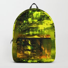 Solar Flare at the MyrGen Warehouse Backpack