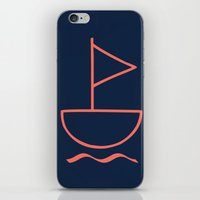 sail iPhone & iPod Skins featuring sail by gzm_guvenc