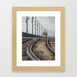 Commute. Framed Art Print