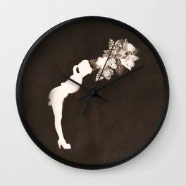 Negative Kiss Wall Clock